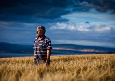 grigor swanson, farmer at tore farm in the black isle