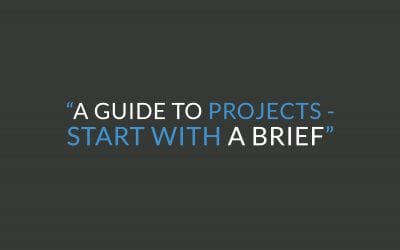 How to write a project brief