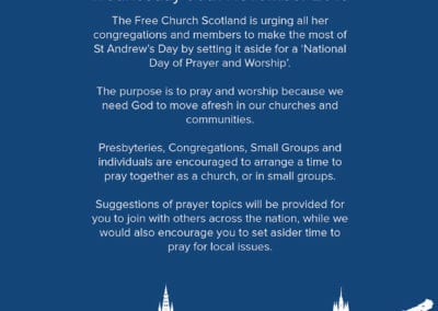 Day of Prayer Publicity