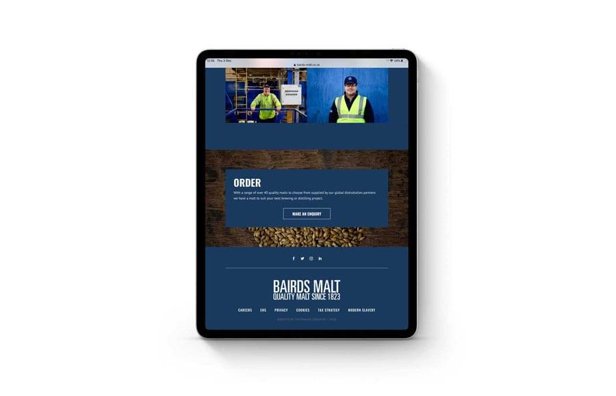 highland website builder
